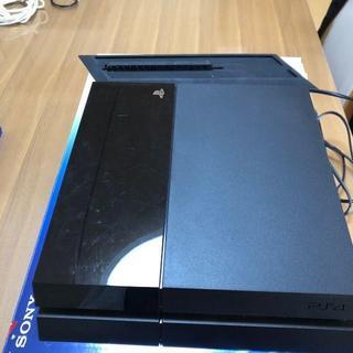 ソニー(SONY)のプレイステーション4 PS4 本体 500GB ブラック CUH-1000A(家庭用ゲーム本体)