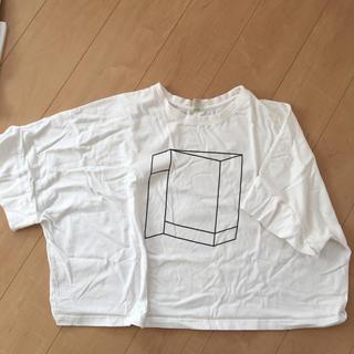 ダブルネーム(DOUBLE NAME)のダブルネーム  プリントTシャツ(Tシャツ(半袖/袖なし))
