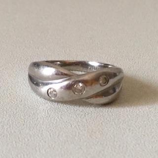PT900   プラチナリング  ダイヤモンドリング(リング(指輪))