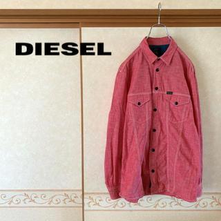 ディーゼル(DIESEL)の【極美品】DIESEL ディーゼル ウエスタンワークシャツ メンズ S(シャツ)