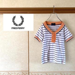 フレッドペリー(FRED PERRY)の【極美品】FRED PERRY フレッドペリー ワンポイントロゴ ポロシャツ(ポロシャツ)