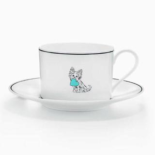 Tiffany & Co. - ニューヨーク本店限定✨新品 未使用 ティファニー カップ&ソーサー わんちゃん