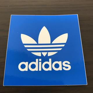アディダス(adidas)の【縦7.3cm横7cm】 adidas ステッカー(ステッカー)