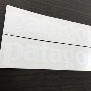patagonia - 【縦4.2cm横21cm】patagonia パタゴニア カッティングステッカー