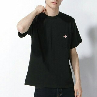 DANTON - 新品タグ付き★BEAMSポケットTシャツダントンカットソー黒