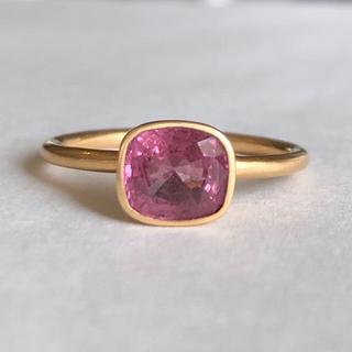 ピンクスピネル k18ゴールドリング 検索 マリーエレーヌ ジェムパレス(リング(指輪))