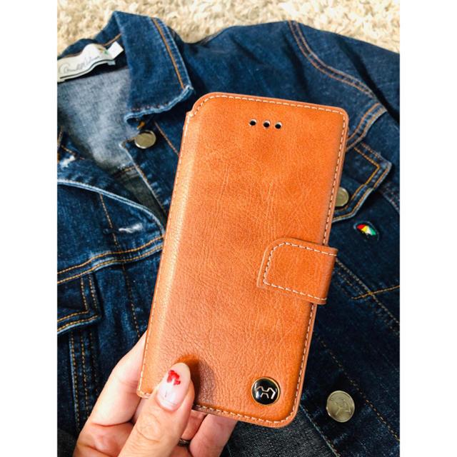 保護ケース | 本牛革ケース☆iPhone7.8.x.xs.XR.xs max手帳ケース(╹◡╹の通販 by モンキースター's shop|ラクマ