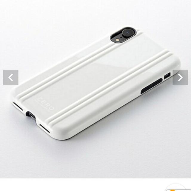 ZERO HALLIBURTON - iPhone XRケース (白)の通販 by ベッティ's shop|ゼロハリバートンならラクマ