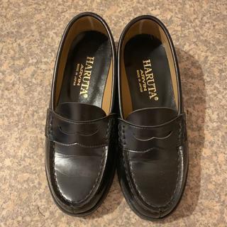 ハルタ(HARUTA)のHARUTA ローファー 黒22EE(ローファー/革靴)