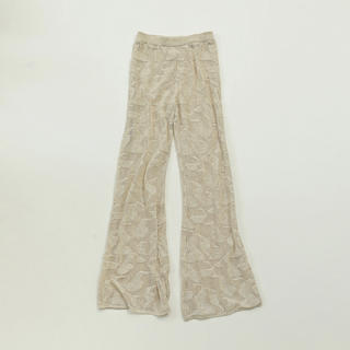 TODAYFUL - TODAYFUL 新作 完売 Sheer Knit Leggings エクリュ