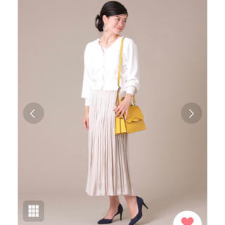 ティアラ(tiara)のTIARA ヴィンテージ サテンスカート(ロングスカート)