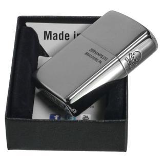 ジッポー(ZIPPO)のZIPPO サイドスカル 銀チタンジッポー 3面加工(タバコグッズ)