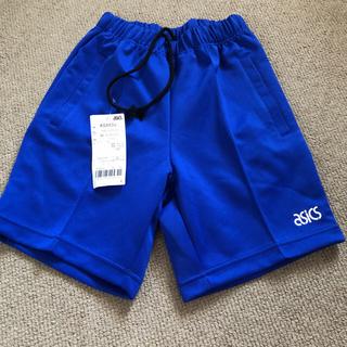アシックス(asics)のハーフパンツ 青 150センチ asics ブルーTシャツセット(ウェア)