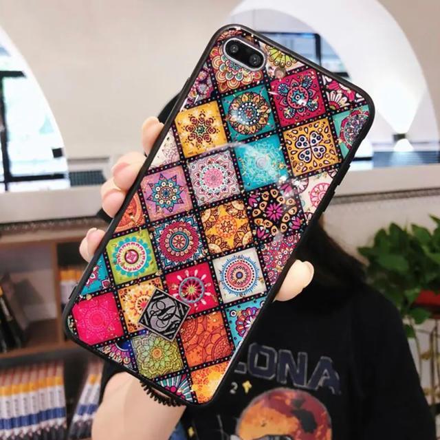 iphone x ケース おススメ | iPhone XR ケース カラフル 民族 エスニックの通販 by iAQ |ラクマ