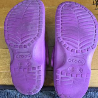 クロックス(crocs)のクロックス22㎝(サンダル)