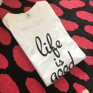トゥデイフル(TODAYFUL)のmite life is good Tシャツ(Tシャツ/カットソー(半袖/袖なし))