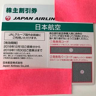 JAL 株主優待券 株主優待