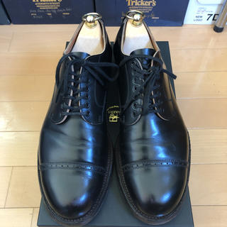 Alden - PORTER CLASSIC Makers 別注 LEATHER SHOES