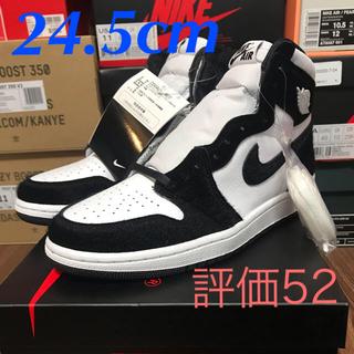 ナイキ(NIKE)のnike air jordan 1 high og panda(スニーカー)