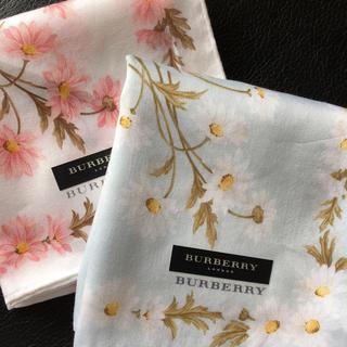 バーバリー(BURBERRY)のBurberry ハンカチ2枚set(ハンカチ)