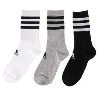 アディダス(adidas)のアディダス ラインソックス 3足(ソックス)