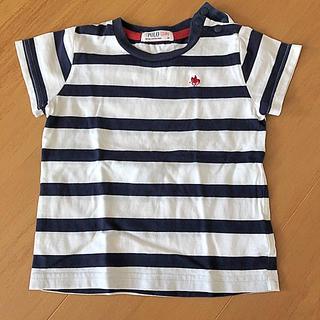 シマムラ(しまむら)のPOLO Baby ボーダー ネイビー(Tシャツ/カットソー)