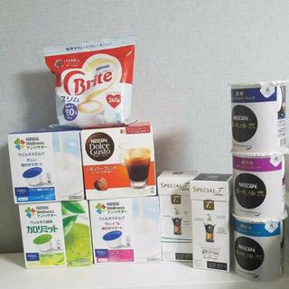 ネスレ(Nestle)の新品未使用❁ドルチェグスト等まとめ売り10点(コーヒー)