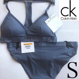 Calvin Klein - 極レア Calvin Klein USA ブラショーツセット S