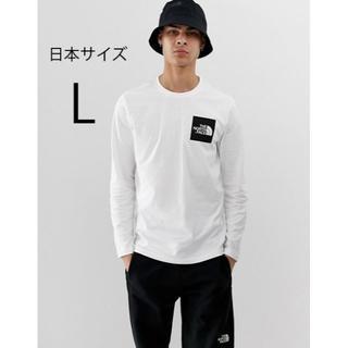 THE NORTH FACE - 最安 即日発送 L 新品ノースフェイス長袖ロンT スクエアロゴTシャツ