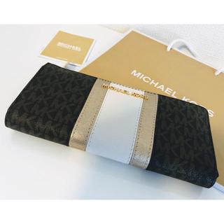 マイケルコース(Michael Kors)の【マイケルコース】人気のMKロゴ  新品  正規品(財布)