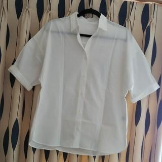 ジーユー(GU)のGU ビックシルエット半袖シャツ(シャツ/ブラウス(半袖/袖なし))