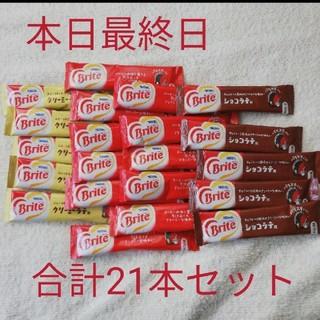 ネスレ(Nestle)の新品 未使用 ブライト Brite クリーミーラテ ショコラテ(コーヒー)