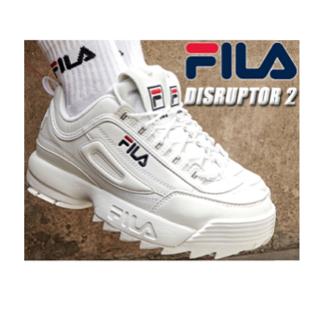 フィラ(FILA)のFILA フィラ ホワイト スニーカー  靴(スニーカー)