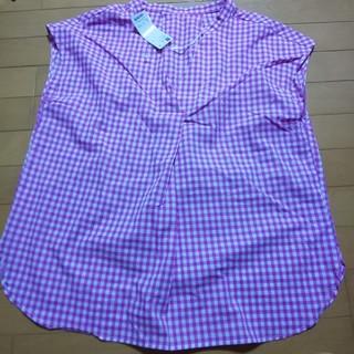 ジーユー(GU)のGU 新品、未使用ブラウス(シャツ/ブラウス(半袖/袖なし))