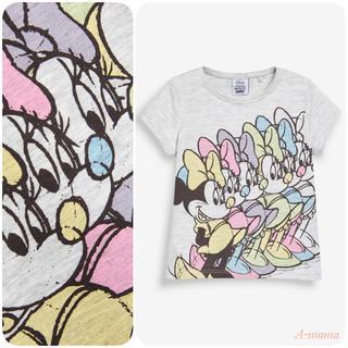 ネクスト(NEXT)のNEXT☆グレー・ MinnieMouse半袖Tシャツ(Tシャツ)