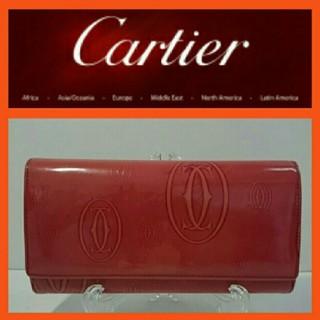 カルティエ(Cartier)のカルティエ 長財布 ハッピーバースデー(財布)