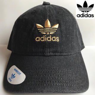 アディダス(adidas)のレア【新品】adidas アディダス USA レディース キャップ デニム(キャップ)