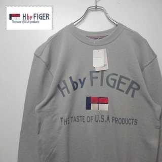 トミーヒルフィガー(TOMMY HILFIGER)の【デッドストック】 H by FIGER スウェット トレーナー N266(スウェット)