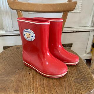 ファミリア(familiar)のファミリア  長靴  14センチ   レインブーツ(長靴/レインシューズ)