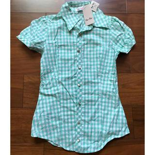 バイバイ(ByeBye)のチェックシャツ(シャツ/ブラウス(半袖/袖なし))
