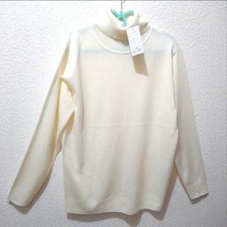 シマムラ(しまむら)の新品 しまむら 薄手タートル ニット セーター♥️LL ユニクロ アベイル GU(ニット/セーター)