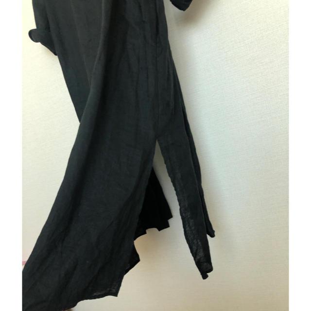 ENFOLD(エンフォルド)のナゴンスタンス麻ガウン羽織りエンフォルド レディースのジャケット/アウター(ガウンコート)の商品写真