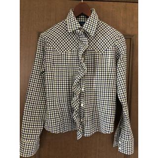 イヴォン(YVON)のギンガムチェックシャツ(シャツ/ブラウス(長袖/七分))