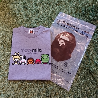 アベイシングエイプ(A BATHING APE)の新品  BAPE KIDS  A BATHING APE Tシャツ  120(Tシャツ/カットソー)