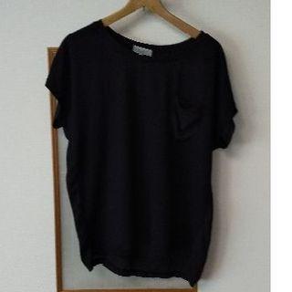 シマムラ(しまむら)のしまむら黒Tシャツ(Tシャツ(半袖/袖なし))
