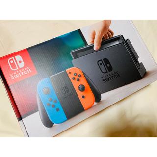 ニンテンドースイッチ(Nintendo Switch)の【新品】ニンテンドースイッチ(家庭用ゲーム機本体)