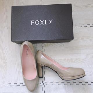 フォクシー(FOXEY)の新品♡FOXEY パンプス 36(ハイヒール/パンプス)