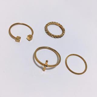 ゴールド 指輪(リング(指輪))