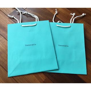 ティファニー(Tiffany & Co.)のティファニー ショップ袋 2点(ショップ袋)
