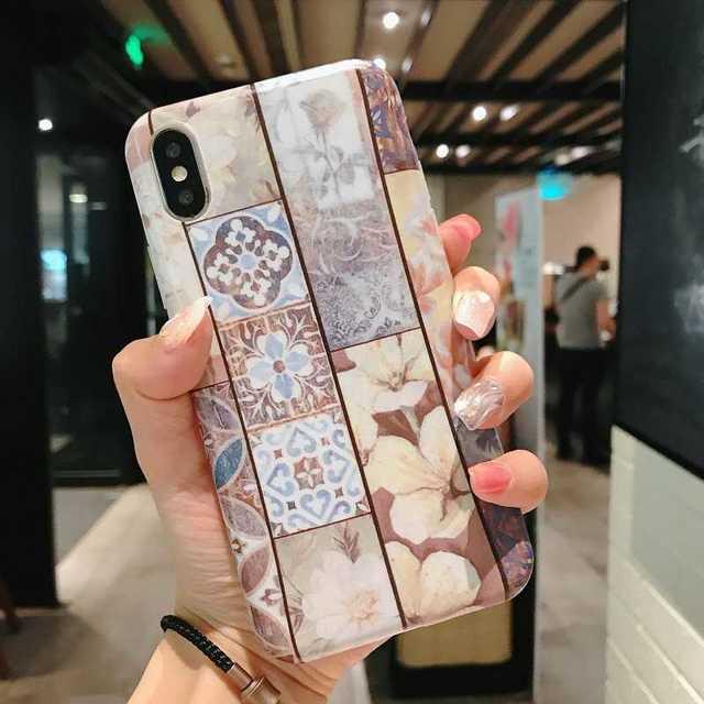 iphone 8 ケース エヴァ - iPhoneXR カバー スマホケース 大理石 可愛い ケース 石の通販 by トシ's shop|ラクマ